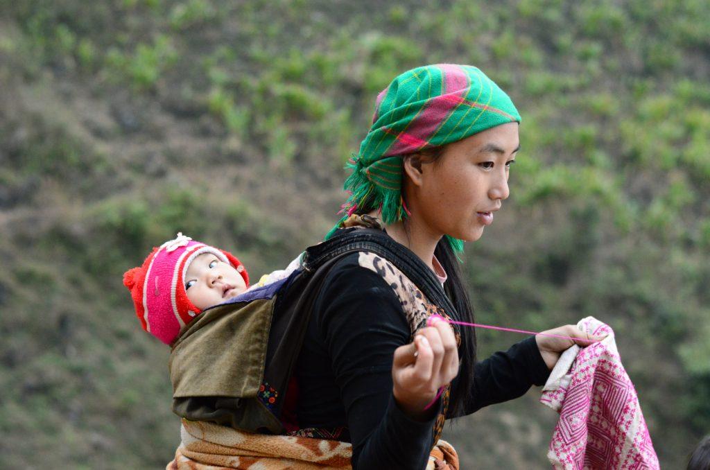 Lùng Khúy là nơi sinh sống của đồng bào dân tộc Mông