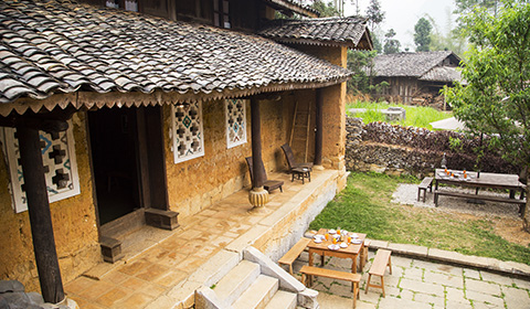 Traditional architecture, modern amenities